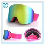 Frameless Anti Fog Ski Mask óculos de segurança lente de substituição