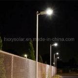 Precio de 12W al aire libre todo en una luz de calle de la energía solar LED