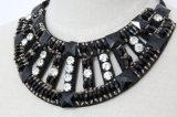 De vrouwen vormen Kraag van de Halsband van de Nauwsluitende halsketting van het Kristal van de Namaakbijouterie de Vierkante Ruige (JE0152)