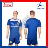 Kundenspezifische Fußballjerseys-preiswertes Fußball-Hemd
