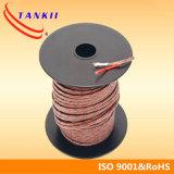 cabo de extensão de par termoeléctrico /wire de 0.32mm (tipo JX)