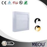 Plafonnier carré de CRI>80 PF>0.90 Dimmable 8inch18W LED