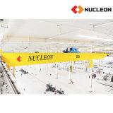 核子の研修会は7.5トン4つの車輪の二重ガードの天井クレーンを専門にした