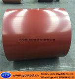 PPGI a enduit la bobine d'une première couche de peinture en acier galvanisée avec de la matte enduite