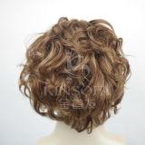 para la peluca llena del cordón del pelo humano de los hombres el 100%