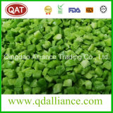 IQF Frozen Green Red Yellow Pepper Dices avec certificat Brc