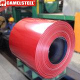 El color de ASTM A653 PPGI cubrió la bobina de acero prepintada