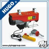 Grue électrique électrique de la grue PA500 de treuil de construction mini