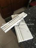 Mattonelle di marmo bianche bianche di Bianco Carrara delle lastre delle mattonelle di pavimentazione di Carrera