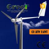 Wind-Turbine der Schaufel-3PCS niedrige U/Min 5kw mit Controller