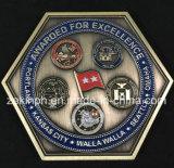 安いカスタムエナメル米国の軍隊の金属の挑戦硬貨