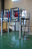 Máquina que sopla doble de la película plástica de la pista del doble del tornillo del LDPE del HDPE Sjm-Z45-2-1100