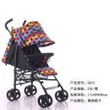 Justierbarer Griff-faltender Regenschirm-Spaziergänger-Baby-Spaziergänger