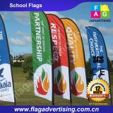Bandeira de anúncio feita sob encomenda do Teardrop, bandeira da pena, bandeira de voo, bandeira da praia