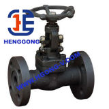 Valvola di globo ad alta pressione industriale della flangia di API/ANSI/DIN A105