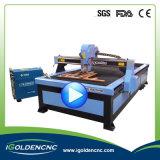 Вырезывание 1325 плазмы и кислородная резка CNC машина