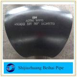ISO curto B16.9 do aço de carbono do Bw R 90deg 3in do cotovelo