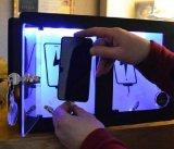 Desktop заряжатели предлагают 3 поручая локера с светом и кабелями для всех видов Smartphone