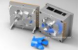 Modelagem por injeção plástica de pá do ventilador da tabela da única cavidade