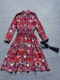 Горячее платье печати женщин партии способа конструкции сбывания