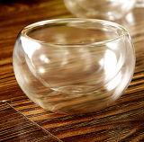 Pequeña taza de té taza de té de cristal de 50 ml Borocilicate