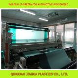 зеленый цвет 0.76mm на зеленой пленке PVB для автомобильного стекла лобового стекла