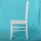 Silla blanca de madera de Chiavari de la silla blanca de madera de la alta calidad para la boda