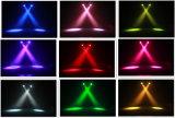 luz principal movente da lavagem do diodo emissor de luz de 19PCS 15W RGBW com zoom