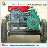 Bomba de agua movible de irrigación del motor diesel