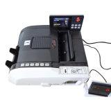 Máquina de detecção e encadernação de contagem automática de notas bancárias com tela de toque