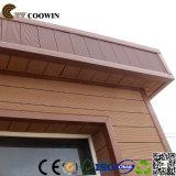 Casa de painel Prefab do revestimento de China WPC ao ar livre