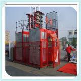Construção Elevator (Scd200/200 max Capacity 2t) com Two Cage