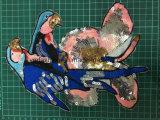 Zona Ym-3 del ricamo del fiore delle zone dei Sequins degli accessori dell'indumento