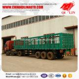 3 de Semi Aanhangwagen van de Staaf van het Pakhuis van assen voor Vervoer van het Vee