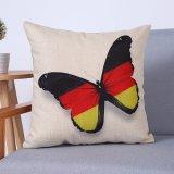 Het digitale Decoratieve Kussen/het Hoofdkussen van Af:drukken met het Patroon van de Vlinder (mx-81)