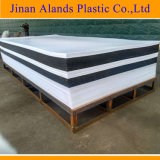 Изготовление Китая самое большое бросило акриловый лист 3mm плексигласа листа 4.5 mm черного белого ясного цвета