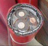 noyaux souterrains du câble trois de 11kv système mv