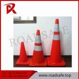 Orange einteilige reflektierende Belüftung-Verkehrssicherheit-Kegel