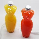 Plástico botella de agua de jugo de agua clara botella 400 ml la forma de un ser humano