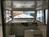 Barco 2017 de pesca el 14.2m de aluminio del modelo nuevo los 46FT