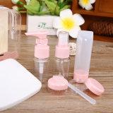 De plastic Reeks van de Reis, de Fles van de Spuitbus van de Pomp en Plastic Kruik (NTR15)