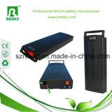 36V 9ah Pak van de Batterij van het Rek van het Lithium het Ionen Achter voor Elektrische Fiets