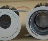 5W 10W 15W 20W LED Downlight per illuminazione interna/commerciale (LWZ230)