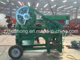 Broyeur de mâchoire mobile de moteur diesel Pef150*250
