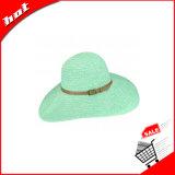Chapéu flexível feito sob encomenda largo novo do Boater do chapéu de palha da borda