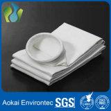 Sachets filtre de collecteur de poussière de la résistance PTFE de température élevée