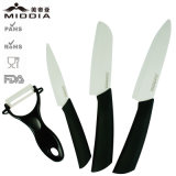 Articolo da cucina 3PCS Ceramic Knife Set con Peeler per Kitchen Gadget