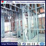 Структура изготовления и конструкции светлая стальная