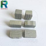 화강암 구획 돌 절단을%s 40X3.0X12mm 다이아몬드 세그먼트