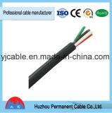 Cable eléctrico con cobre conducta, aislamiento de PVC